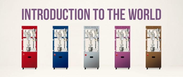 焙煎機は世界中に導入しています